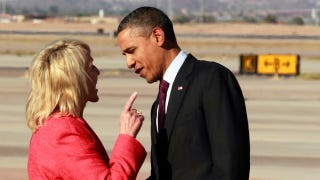 Illustration for article titled Obama Doesn't Have Time for Jan Brewer's Shit, But Don't Tell Her That