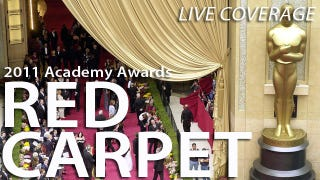 Illustration for article titled 2011 Oscars: Liveblogging The Red Carpet