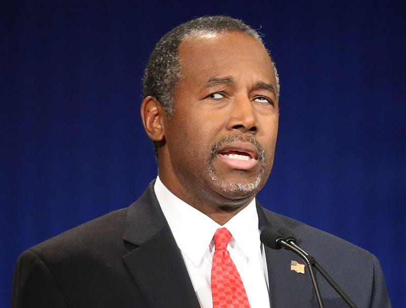 Illustration for article titled Ben Carson's Message Undercut By Eyes Drifting In Different Directions