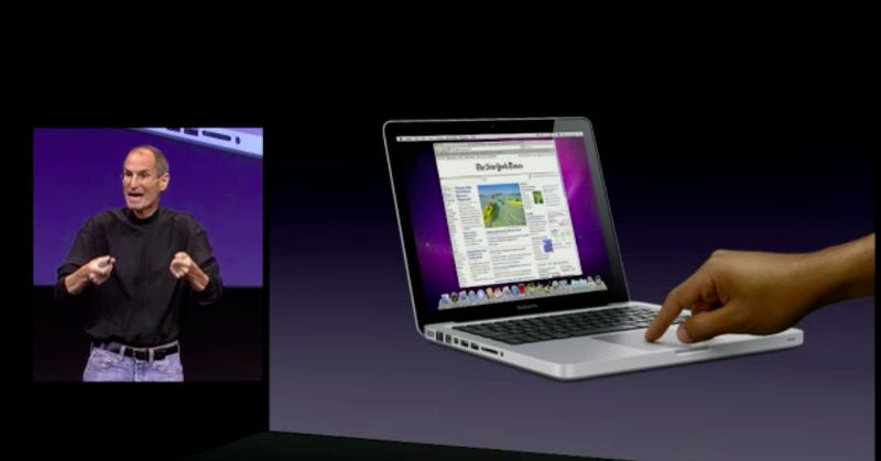 Illustration for article titled How Apple Will Do Multitouch On Macs
