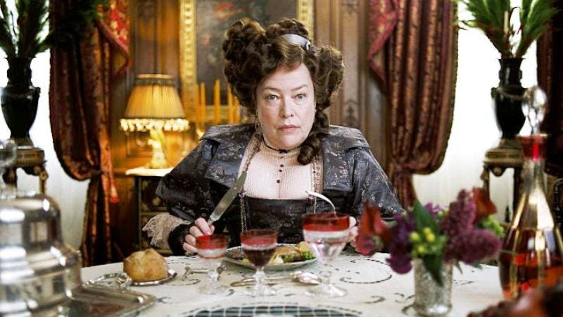 Kathy Bates memorably played Brown as strong-willed and charming in James Cameron's epic retelling. (Screenshot: Titanic)