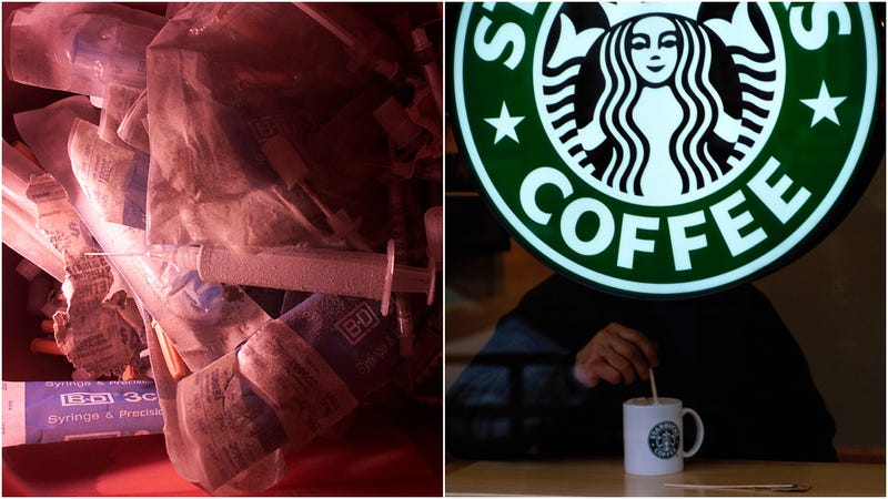 Illustration for article titled Starbucks adds needle-disposal boxes to various locations after OSHA fine [UPDATED]