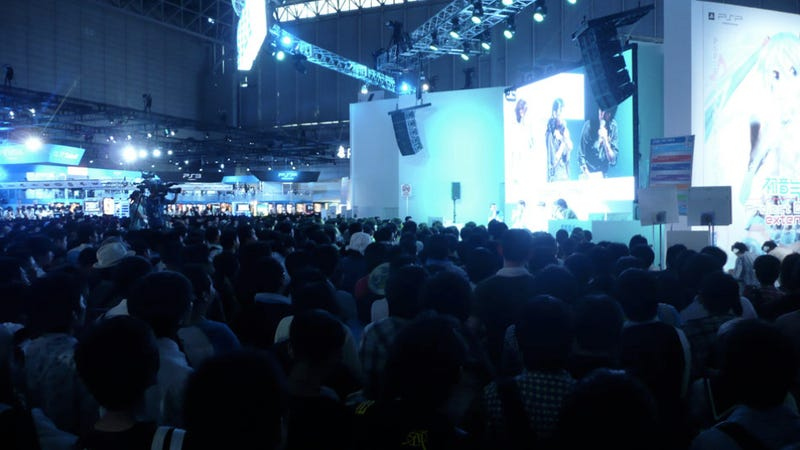 Illustration for article titled Yesterday Was the Biggest Tokyo Game Show Day. Ever!