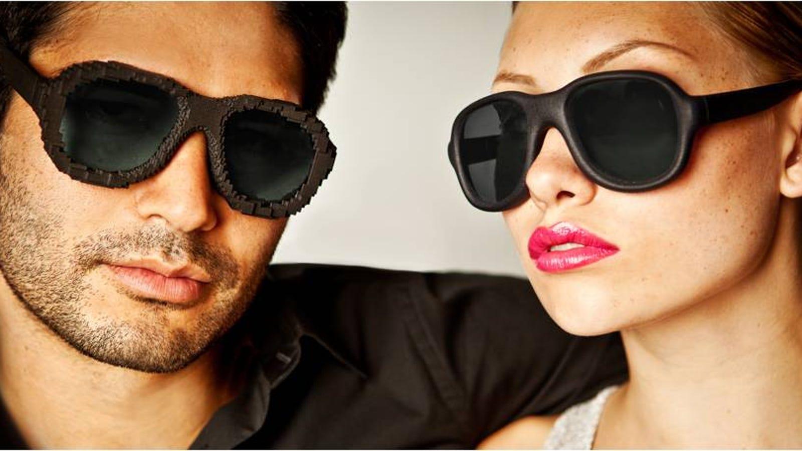 Lo próximo en moda: gafas de sol a medida creadas con impresoras 3D
