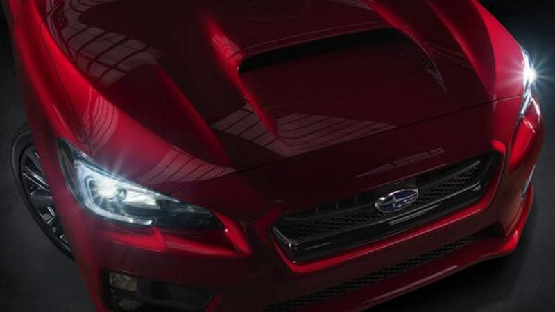Illustration for article titled The 2015 Subaru WRX Is A Rally Bulldog With A Hoodscoop