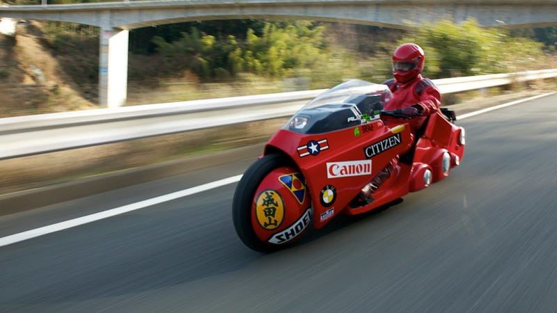 Illustration for article titled The Akira Bike Of Your Dreams Is Racing Across Japan