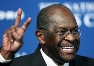 Republican presidential hopeful Herman Cain (Getty)