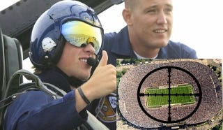 Illustration for article titled Justin Abdelkader Would Bomb Michigan's Big House Off The Map If He Could