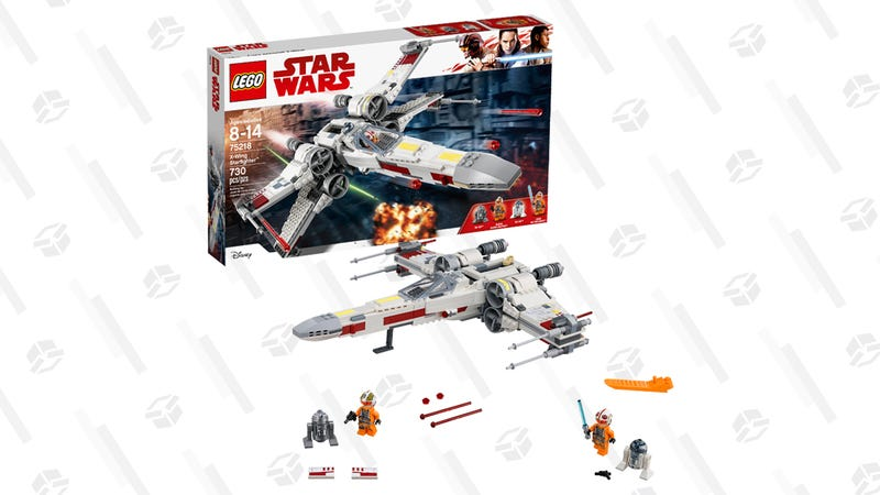 LEGO Star Wars X-Wing Starfighter Building Set | $50 | Walmart