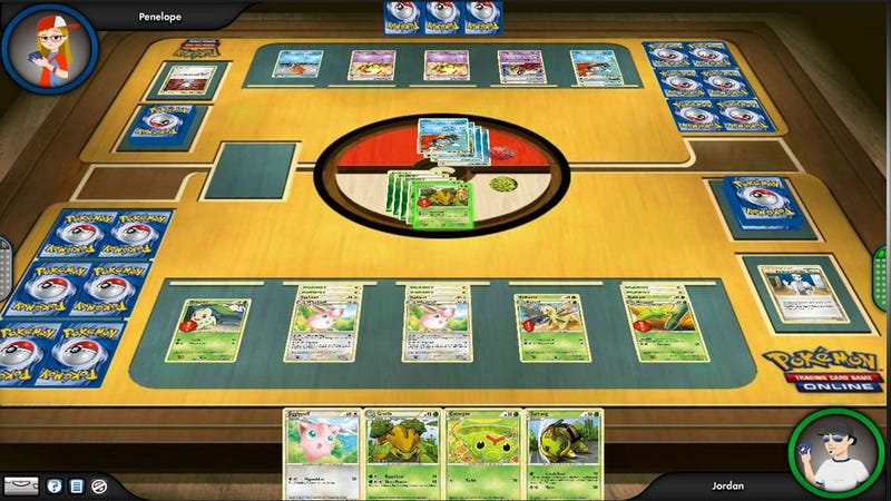 Illustration for article titled Now Everyone Can Play the Pokémon Trading Card Game Online