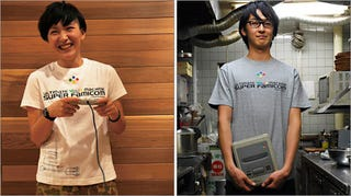 Illustration for article titled Super Nintendo's Celebratory T-Shirt
