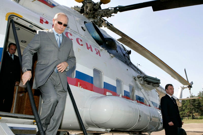Illustration for article titled Inside Putin's Presidential Helicopter Fleet