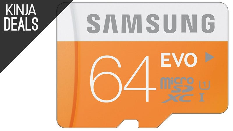 Illustration for article titled The Most Popular MicroSD Card We've Ever Posted is $24 for 64GB Today
