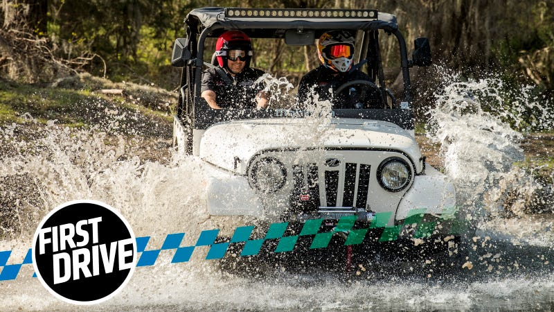 The Mahindra Roxor Is A Reincarnated Willys Jeep And You Absolutely