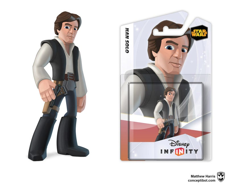 Illustration for article titled Star Wars and Marvel Coming to Disney Infinity