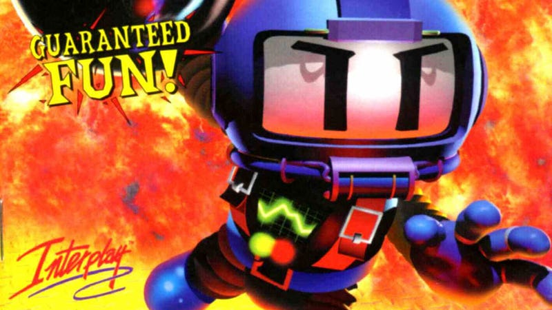 Illustration for article titled Bomberman Will Eat Your Dust and Lick...Your Crack? What?