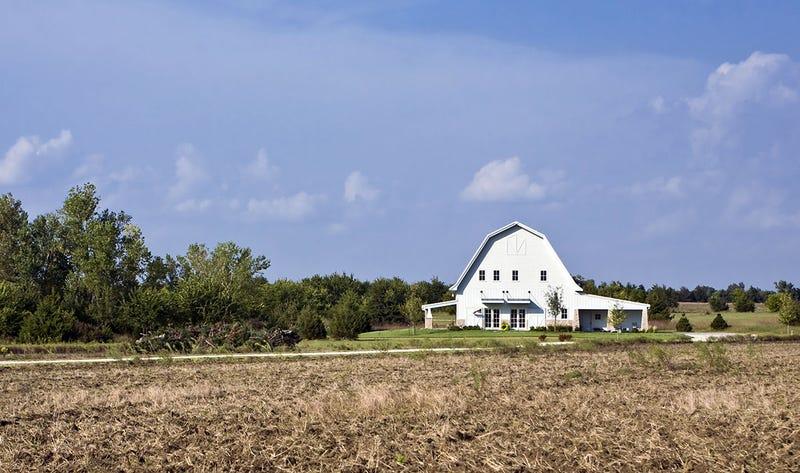 Una granja cualquiera en Kansas. Foto: Bart Everett / Shutterstock