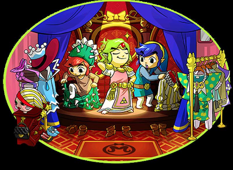 Illustration for article titled Zelda: Tri Force Heroes Lets You 'Blacklist' Internet Jerks