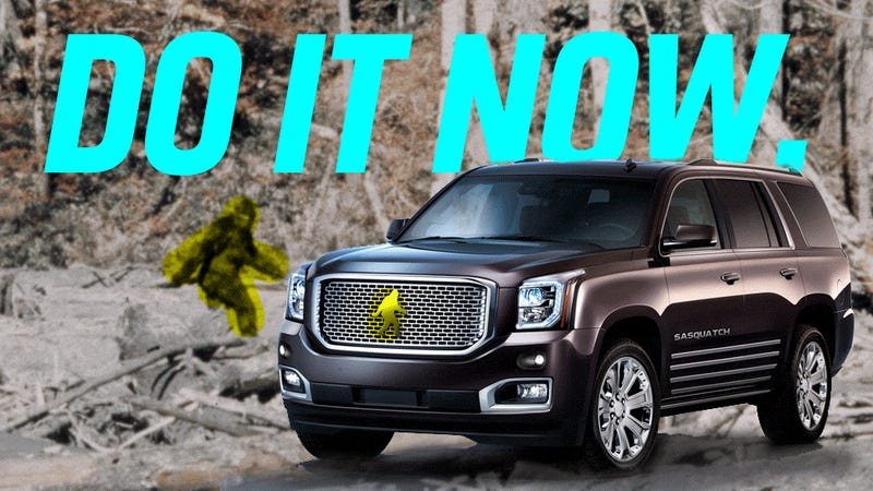 An American Automaker Has To Name An Suv 39 Sasquatch