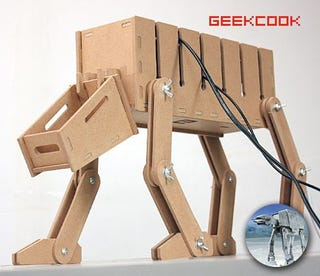 Illustration for article titled Flatpacked AT-AT Model Doesn't Come From IKEA Or The Dark Side