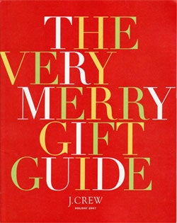 "Illustration for article titled J. Crew's ""Very Merry Gift Guide"""