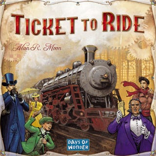 Illustration for article titled Board Game Night at TAY: Ticket to Ride
