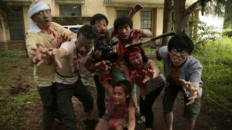Zombies and filmmaking come together in One Cut of the Dead.