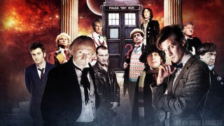 Illustration for article titled This Doctor Who 50th anniversary special will feature a five-Doctor reunion