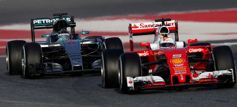 Illustration for article titled Formula One's New Qualifying System Makes My Brain Hurt