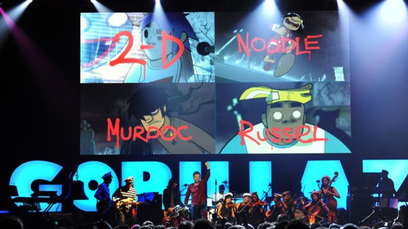 Illustration for article titled Gorillaz: The Fall