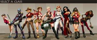 Illustration for article titled Team Fortress 2 Unlocks Its Feminine Side