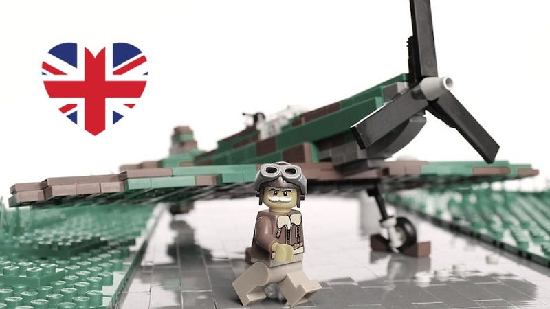 Illustration for article titled Blimey! An Epic History of Britain As Shown Through Lego