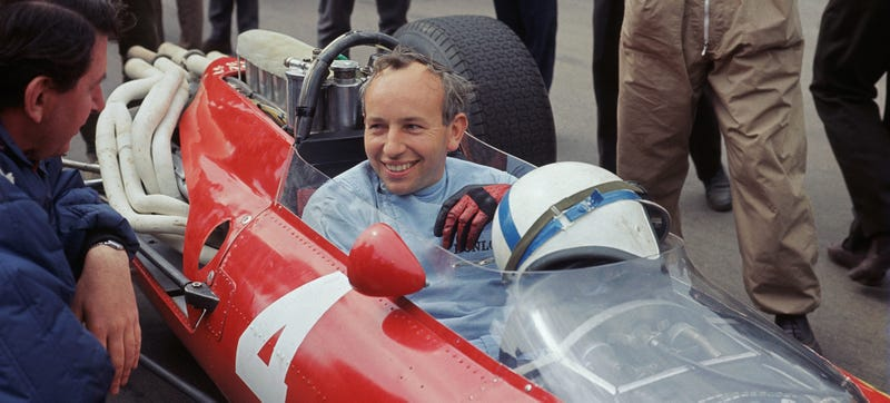 Surtees in a Ferrari, 1966. Photo: Getty Images