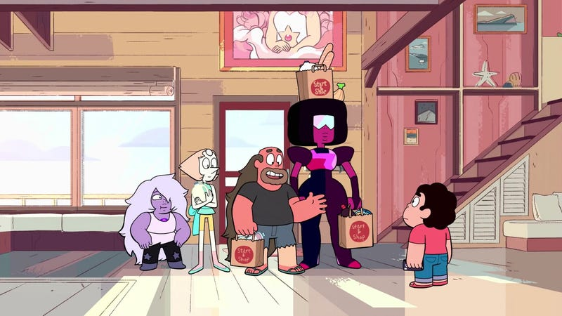 Illustration for article titled Steven Universe comes back down to Earth in a pair of muted episodes
