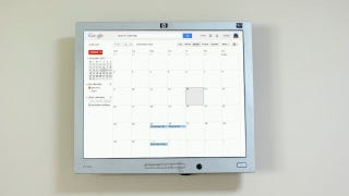 Illustration for article titled Mount a Raspberry Pi-Powered Google Calendar On Your Wall