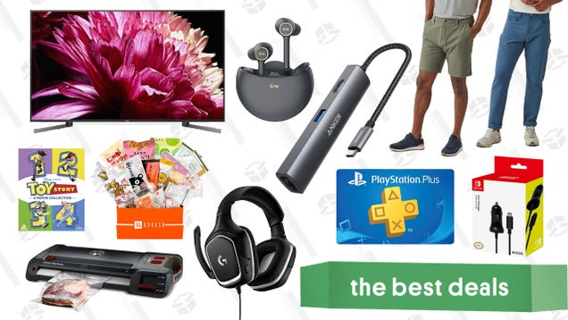 Tuesday s Best Deals: Anker USB-C Hub, Logitech Gaming Headset, Switch Car Charger, and More