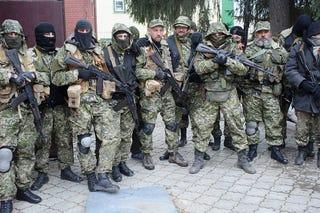 Illustration for article titled Kelet-Ukrajnában lőnek az oroszbarát fegyveresek