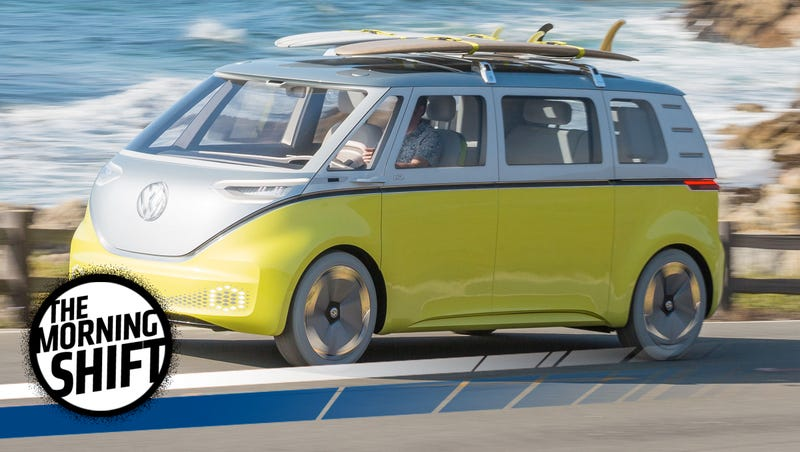 Illustration for article titled Volkswagen's Electric Microbus Is Retro But It Could Actually Be The Future Of Cars