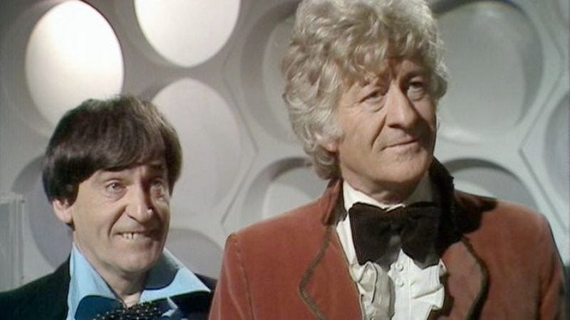 """Illustration for article titled Doctor Who (Classic): """"The Three Doctors"""""""
