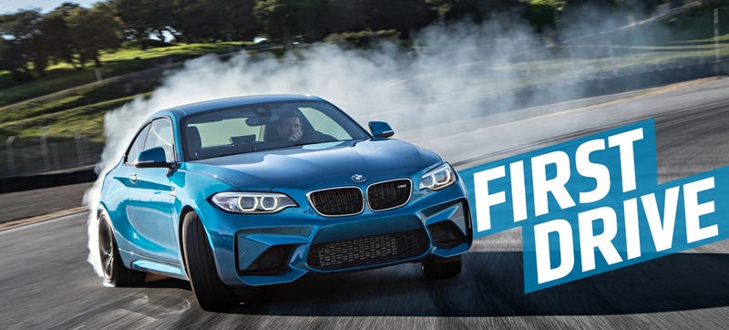 Illustration for article titled The 2016 BMW M2 Is BMW's Middle Finger To Everyone Who Says They Got Soft