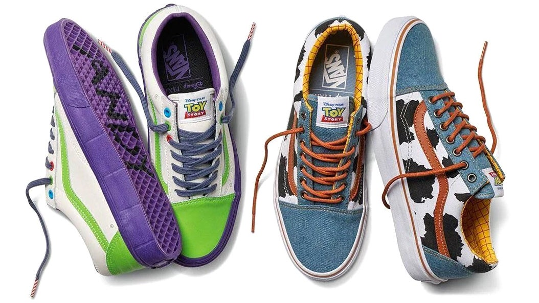 Vans Toy Story Woody low