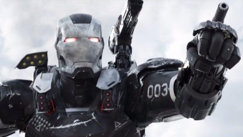 War Machine in Captain America: Civil War