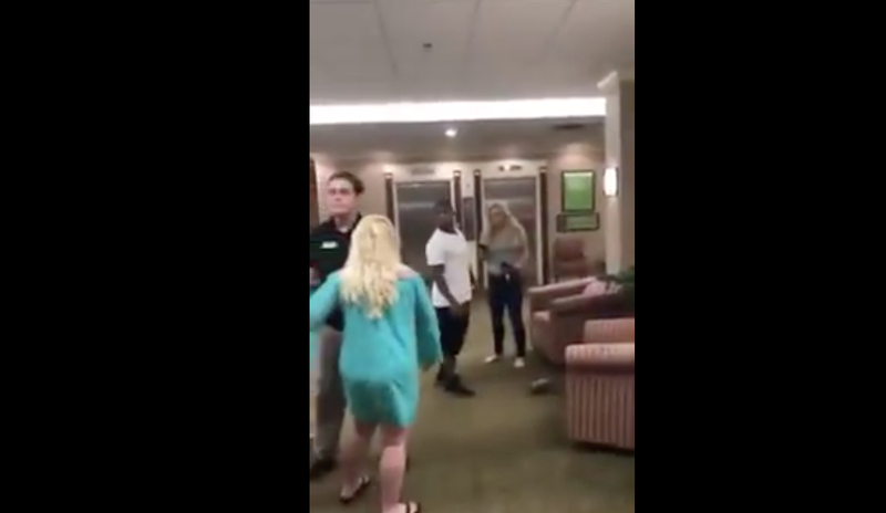 Woman Pummels White Woman For Saying Racist Things About Haitians