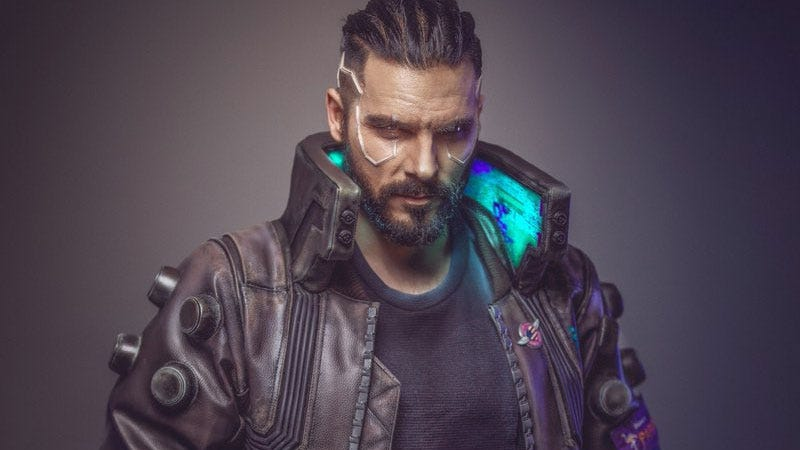 Illustration for article titled Cyberpunk 2077 Cosplay Is Here