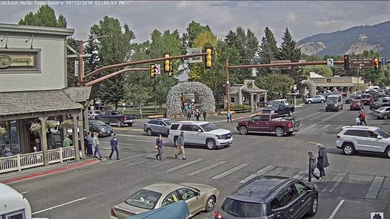 People can t tear themselves away from livestream of a for Towns near jackson hole wyoming