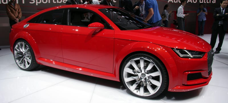 Illustration for article titled Here's How Much Space You Get In The Beetleized Audi TT Sportback