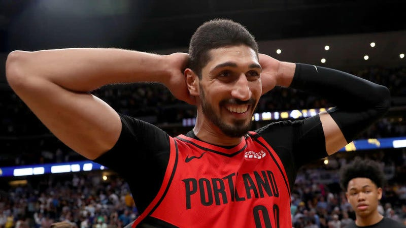 enes kanter says the blazers gave him six minutes to