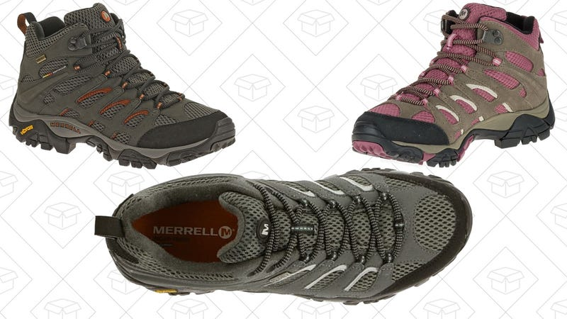 30% off Merrell Moab Hiking Shoes