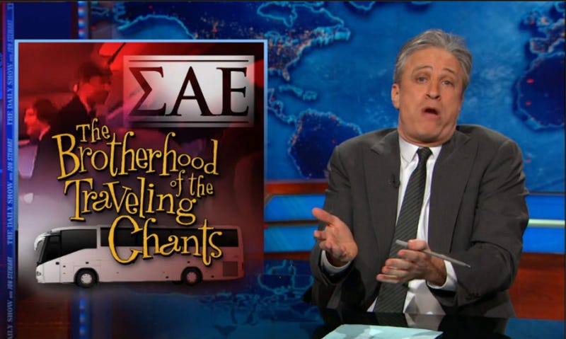 Illustration for article titled Jon Stewart: Morning Joe's 'Rap Causes Racism' Theory Was Dumb as Hell