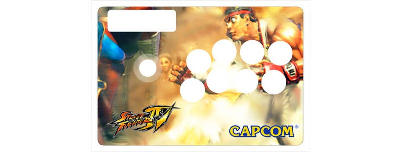 Illustration for article titled Tart Up Your Arcade Sticks With Custom Street Fighter IV Skins